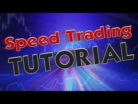 Speed Trading Tutorial  - Schnell Traden Lernen für Anfänger 🚀