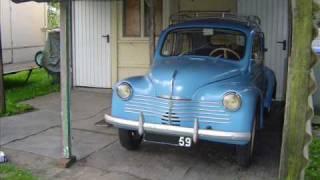 4cv renault année 1953 restauration mécanique