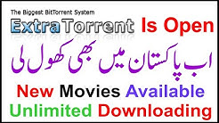 New Extra Torrent Released   How To Open Extra Torrents Site   How to Use Extra Torrent in Hindi