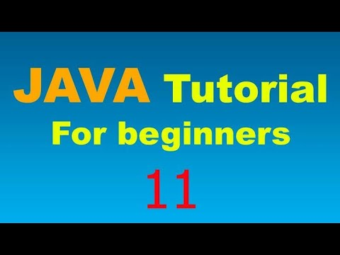 Java Tutorial For Beginners - 11 Arrays in Java thumbnail