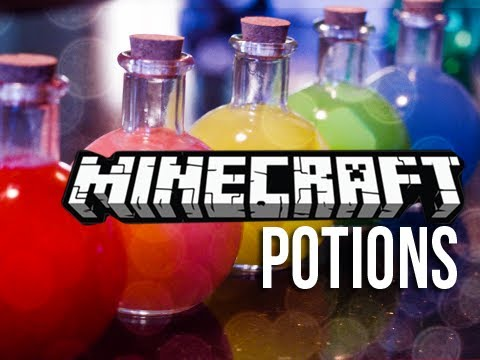 Minecraft Potions -  DIY