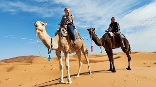 Riding Camels in the Sahara! 🐪 Merzouga Morocco Travel Vlog