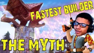BEST FORTNITE BUILDER - The Myth Stream Highlights - Best Player