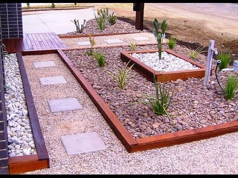 Front Yard Garden Ideas I Front Yard Garden Bed Ideas   YouTube