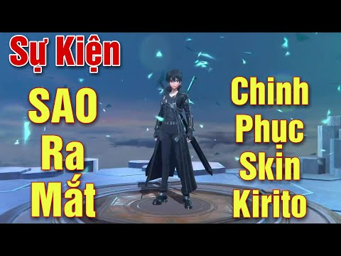 [Gcaothu] Ra mắt sự kiện SAO đổi lấy trang phục mới Kirito Hắc Kiếm Sĩ chỉ từ 8 QH