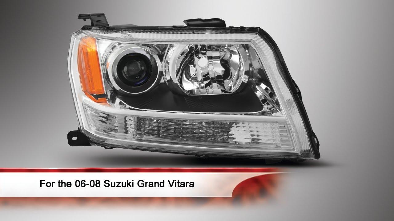 Suzuki Sidekick Headlight Replacement Site Youtube