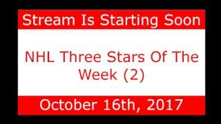 NHL Daily Talk Show #64 NHL Three Stars Of The Week (2)