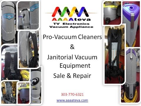 Janitorial And Pro-vacuum Cleaners Sale & Repair Denver Co.