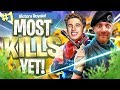 OUR MOST KILLS DUO WIN in Fortnite Battle Royale
