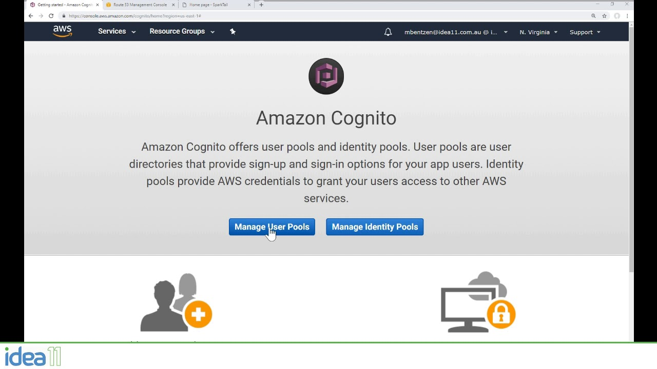 Protecting your  NET Core Serverless App with Amazon Cognito