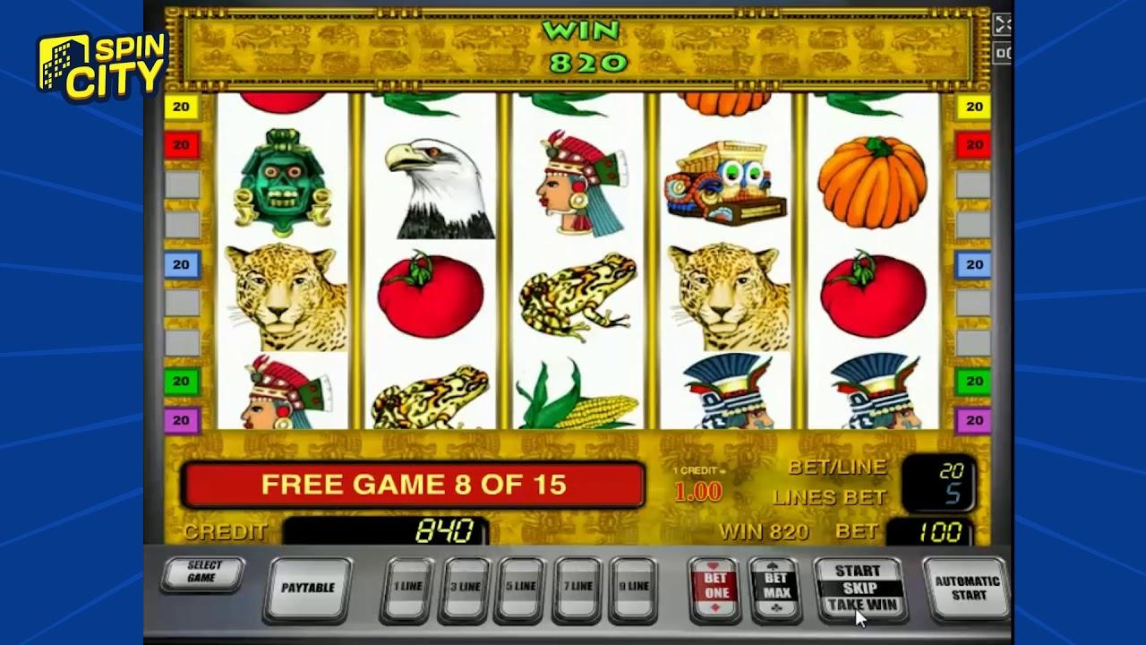 Игровой автомат Сокровища Ацтеков — знакомство с древними цивилизациями