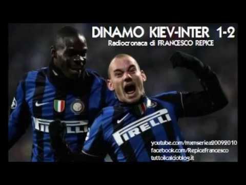 DINAMO KIEV-INTER 1-2 - Radiocronaca di Francesco Repice (4/11/2009) Radio Rai