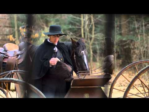 Joseph and Emma hide — Film Clip from Joseph Smith: Plates of Gold