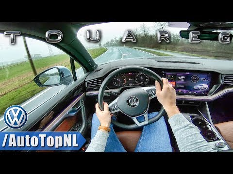 VW TOUAREG 2019 R LINE 286HP 3.0 V6 Turbo POV Test Drive by AutoTopNL