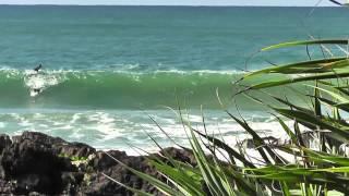 Surfing Coffs Harbour T Spot.
