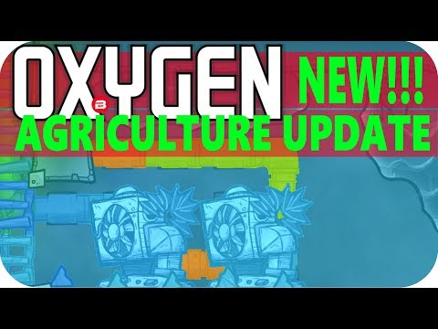 Oxygen Not Included THERMAL REGULATION Lets Play Oxygen Not Included AGRICULTURE UPDATE Gameplay #13
