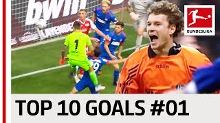Goalkeeper Goals - Top 10 Goals - Jersey Number 1 - Lehmann, Butt & Co.