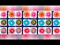 6 Different types of mirror work / Mirror hand embroidery | Shesha hand embroidery | 2018/227