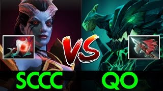 sccc dota2 queen of pain crazy queen vs od by oppa qo