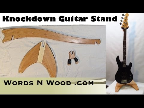 Knockdown Guitar Stand (WnW #23) (Plans Available)