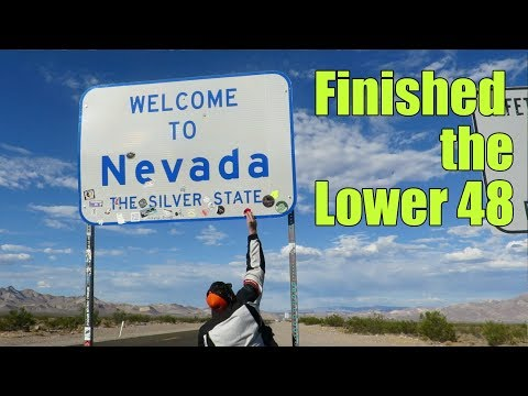 Riding the Lower 48 States on a Motorcycle | Cross Country Trip Day 9
