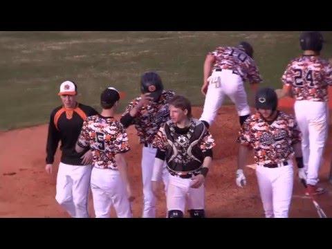 Full Baseball Game - Fuquay-Varina High School (5) vs Athens Drive (2)