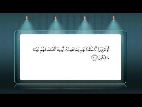 Surah Ya Sin By Mohammed Al Muhasny