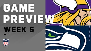 Minnesota Vikings vs. Seattle Seahawks | NFL Week 5 Game Preview