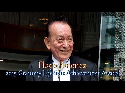 Flaco Jimenez, 2015 Grammy Lifetime Achievement Award
