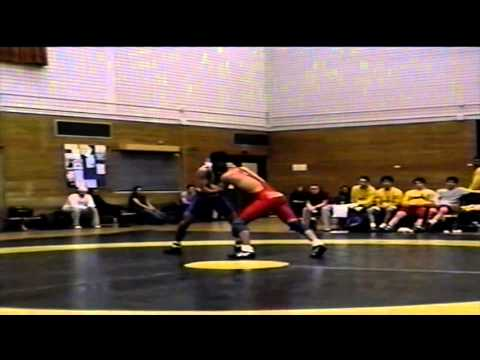 2002 Dual Meet: 65 kg Joe Loucks (UofC) vs. Jesse Kao (UofA)