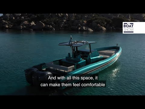 SEA WATER KYMERA 43 - Motor Boat Review - The Boat Show