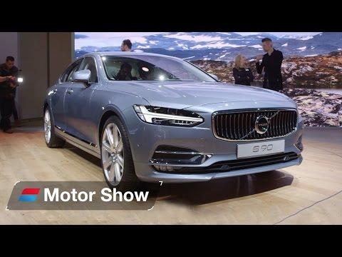 Mercedes E-Class vs Volvo S90  – Detroit Motor Show