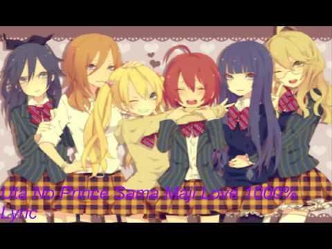 Uta No Prince Sama Maji Love 1000% Lyric female version
