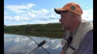 Ловля фидером с лодки на Днепре