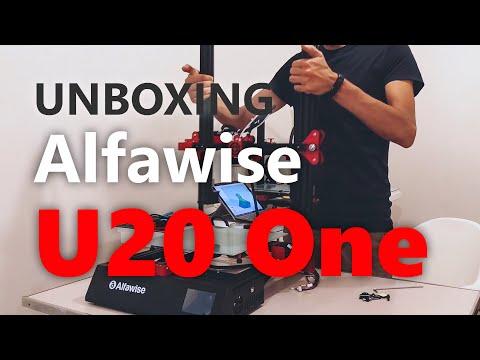 Alfawise U20 One, unboxing & montaggio facile