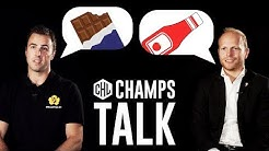 What is always in your fridge? | Champs Talk