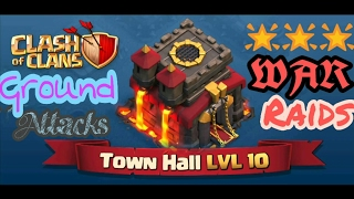 Bowlers+Witches    TH10 3 STAR    STRONGEST GROUND ATTACK STRATEGY    2017