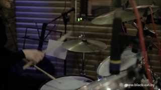 """Мария (ученица студии """"Black CaT"""") Обучение на барабанах в минске"""