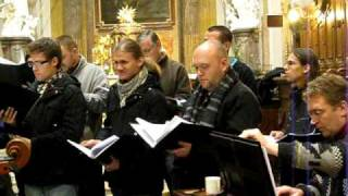 Kantiléna (Mixed choir) - All Souls Day concert rehearsal 2009 Pt. 10