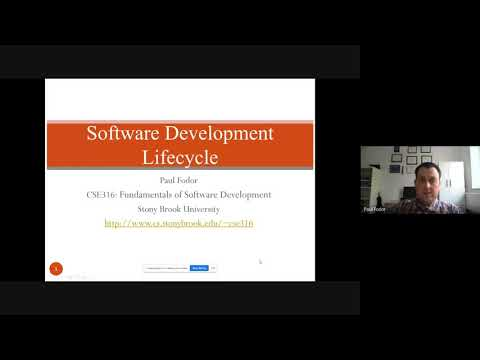CSE316: Fundamentals Of Software Development: Software Development Life Cycle