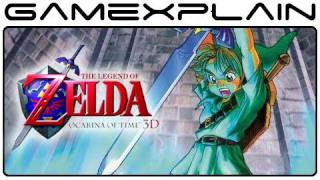 Legend of Zelda: Ocarina of Time 3D Review (Nintendo 3DS) (Video Game Video Review)