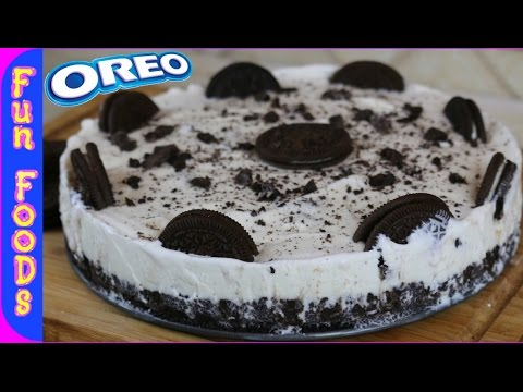 How to Make a Homemade Oreo Ice Cream Cake | FunFoodsYT Desserts