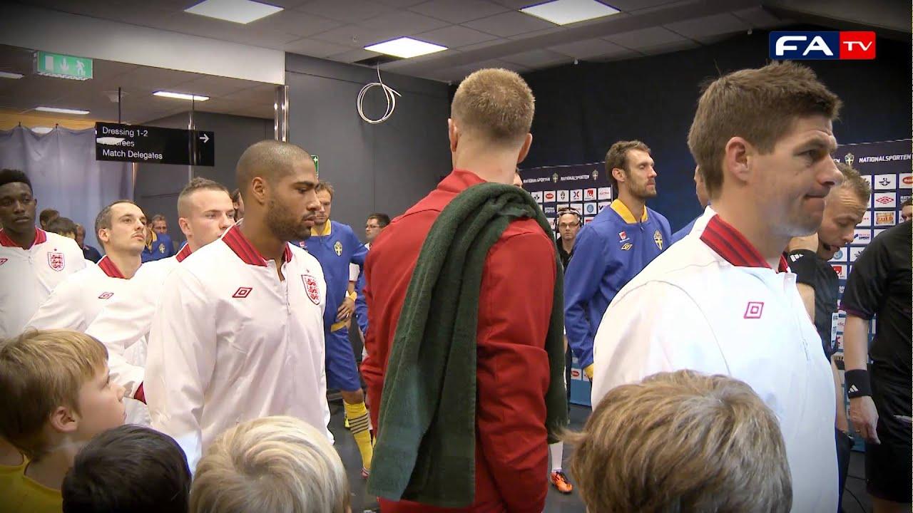 Download Sweden v England 4-2 Tunnelcam Highlights | England 14/11/12