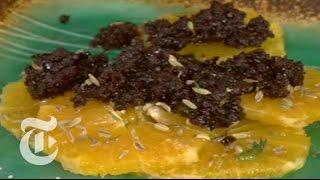 The Minimalist: Orange Salad With Black Olive Puree | The New York Times