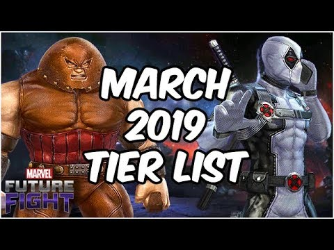Best Heroes Ranked April 2019 (187 Character Tier List) - Marvel