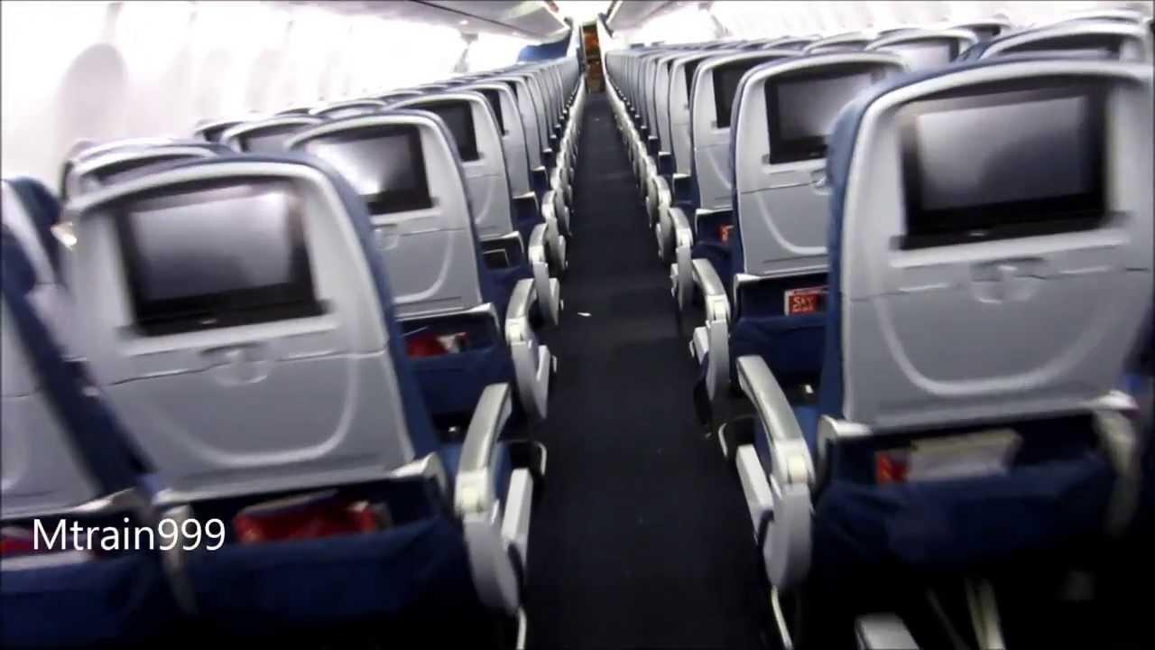 Delta 737 900 Cabin Tour New Youtube