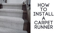 Installing a Carpet Runner on Stairs the Right Way- DirectCarpet.ca