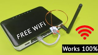 Free WiFi Internet Router | Work 100%