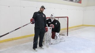 VH Post Integration || Pure Goalie Drill Powered by Stop-It Goaltending