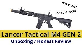 Lancer Tactical LT-15 G2   Un-boxing And Honest Review